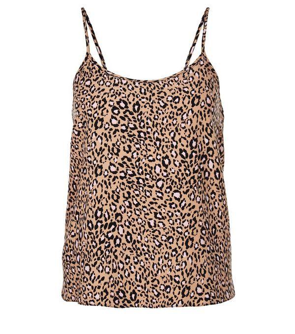 Teens Brown Leopard Print Cami | New Look