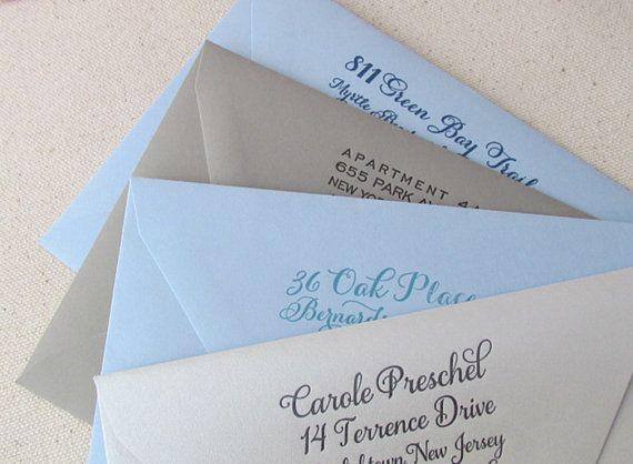 ADD ON Return Address envelope printing 1color by DinglewoodDesign