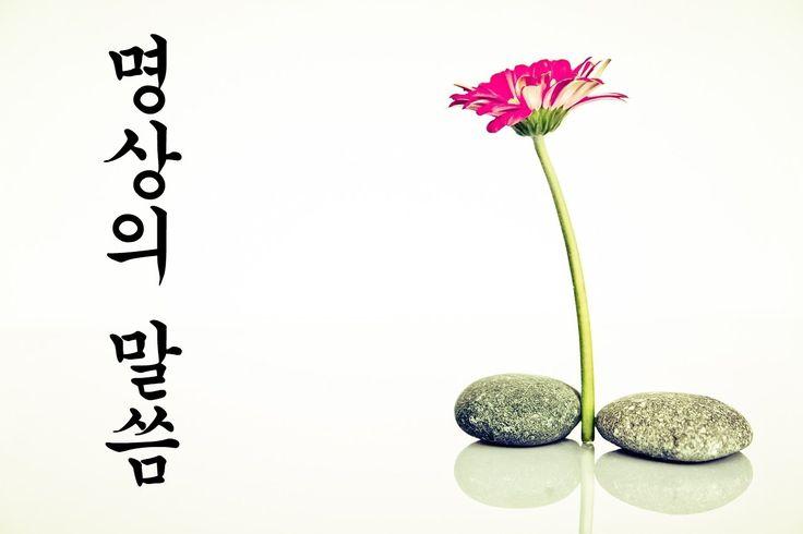 명상의 말씀 - 삶과 죽음과 깨달음 (26분)