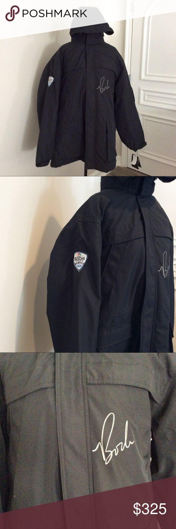 Men's WEATHERPROOF Black Jacket Brand New and signed by Bode Miller! Weatherproof Jackets & Coats