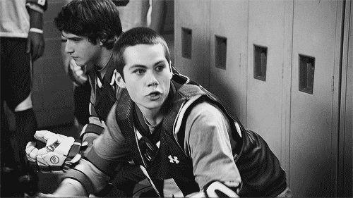 Stiles and Malia. — littlewolfstilinski:   All Dylan fans when they...