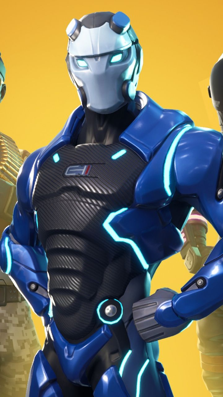 Fortnite, famous, online video game, skin characters