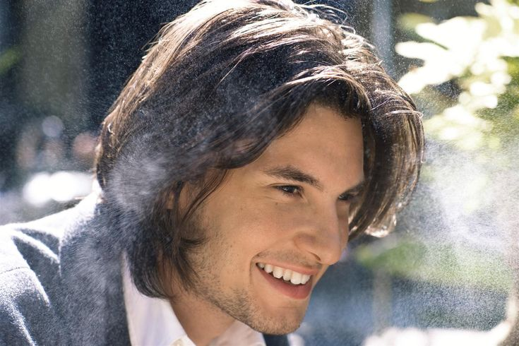 Ben Barnes for Nicholas Holladay - ooh, perfect hair.