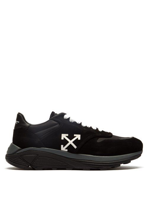 off-white #shoes | Suede trainers