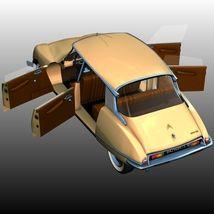 CITROEN DS 21 BERLINE (for Poser) 3D Models 3DClassics