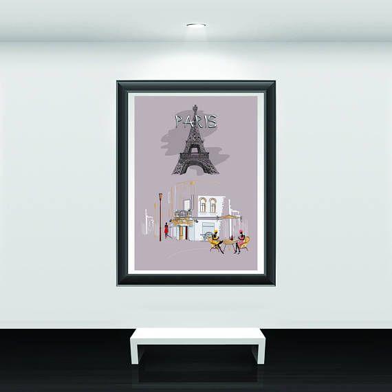Paris decor Paris wall art Paris wall decor Paris room