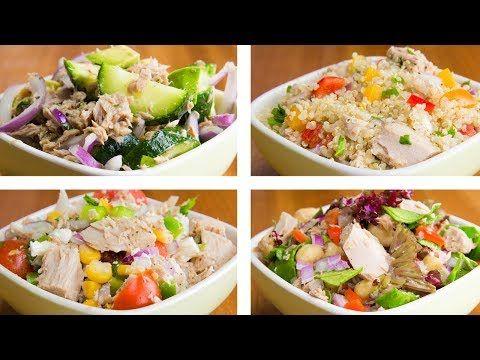 4 Tuna Salad For Weight Loss | Easy Tuna Recipes - YouTube