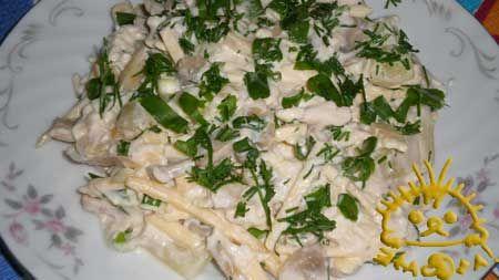 Кулинарный фото рецепт - Салат Купеческий.