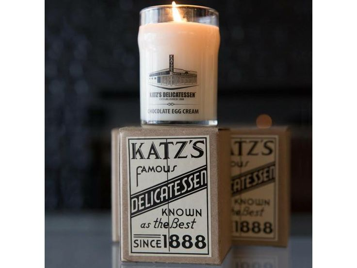 Introducing Katz's Chocolate Egg Cream Candle – Jew and the Carrot – Forward.com