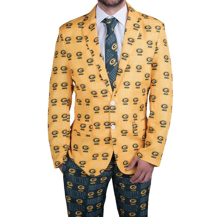 Green Bay Packers Thematic Ugly Suit Combo