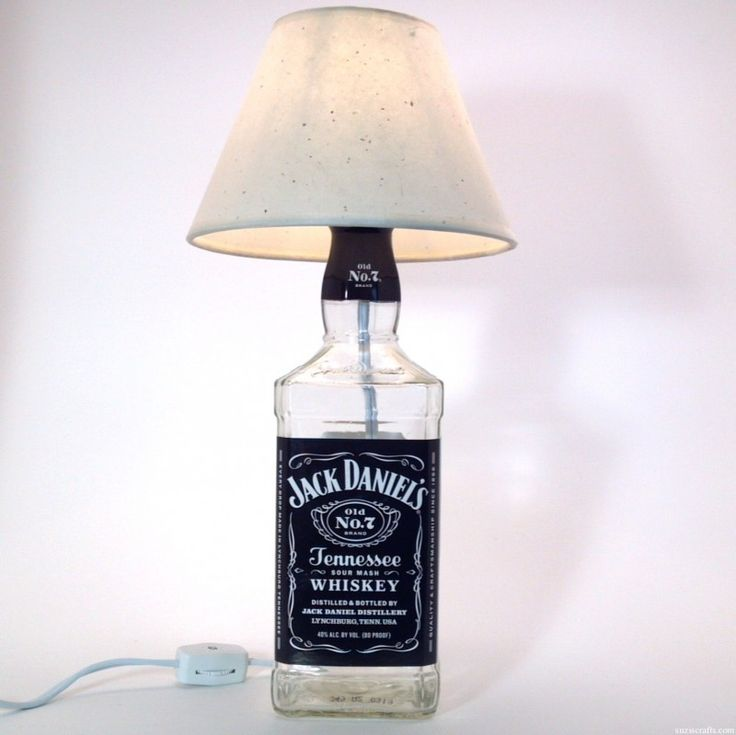 1000 ideas about bedazzled liquor bottles on pinterest for Lamps made out of wine bottles