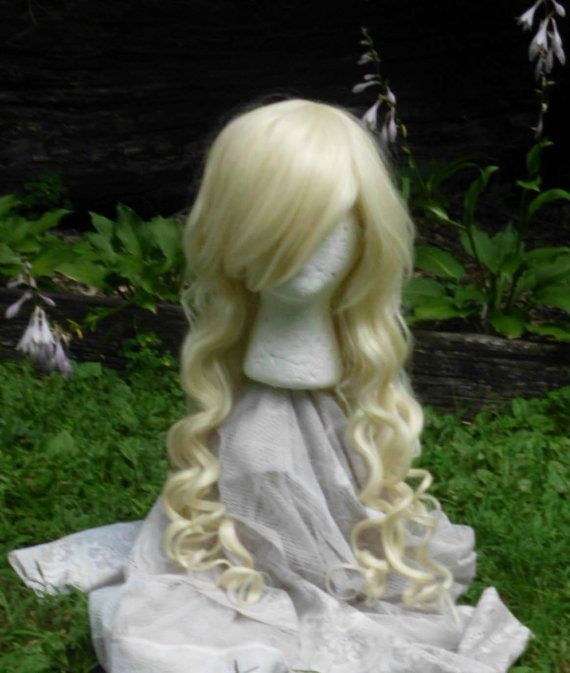 Blond Wig lolita wig Long curly blond wig Cosplay by GustavosGoods