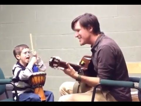 Music Therapy helps a Child with Williams Syndrome Tolerate Loud Sounds