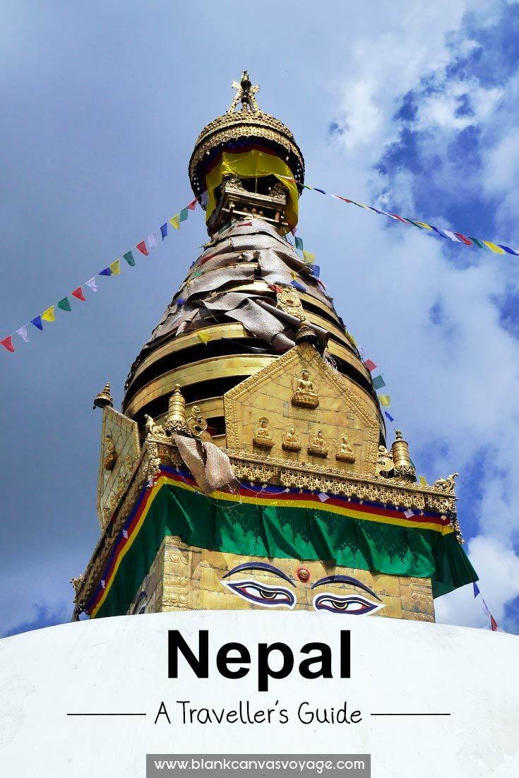 Nepal Travel Guide: Backpacking travel guide to Nepal, itinerary and tips. Best time to visit, general information and places to visit in Nepal.