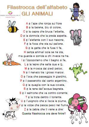 Alfabeto degli animali