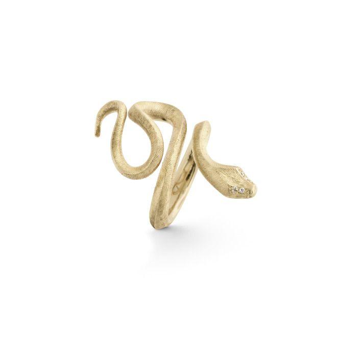 Ole Lynggaard Copenhagen… Mom´´s ring .. Snake…Love it….