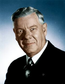 Hendrik Frensch Verwoerd (8 September 1901 – 6 September 1966), commonly identified as H. F. Verwoerd, was Prime Minister of South Africa from 1958 until his assassination in 1966. He is remembered as the man behind the conception and implementation of apartheid, a system of racial segregation dividing ethnic groups in the country