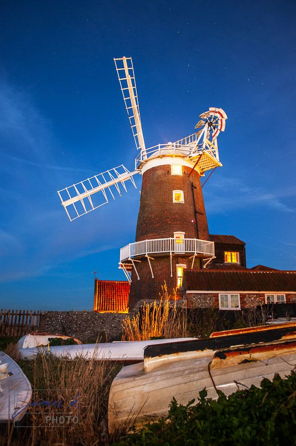 Cley Windmill at Night