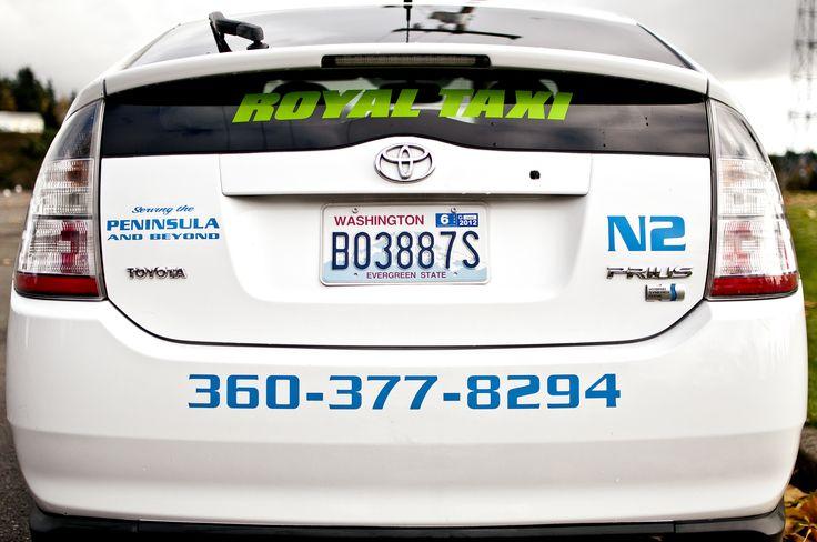 Call Royal Taxi at 360-377-8294