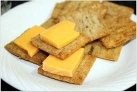 Don't forget the Triscuits and cheese!  My favorite snack after running errands, shopping, or enjoying the Christmas decorations.