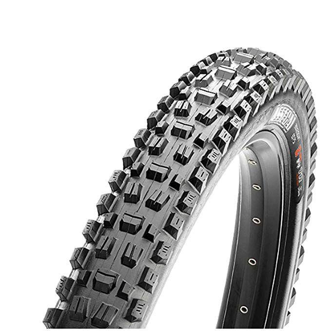 "Black Maxxis Minion DHF 26 x 2.8/"" Tire 60tpi Dual Compound EXO Tubeless Ready"