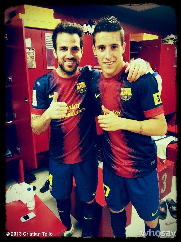 Loving EVERYTHING about Barcelona--especially Cristian Tello of #FCBarcelona <3 #forçabarça #futurehusband