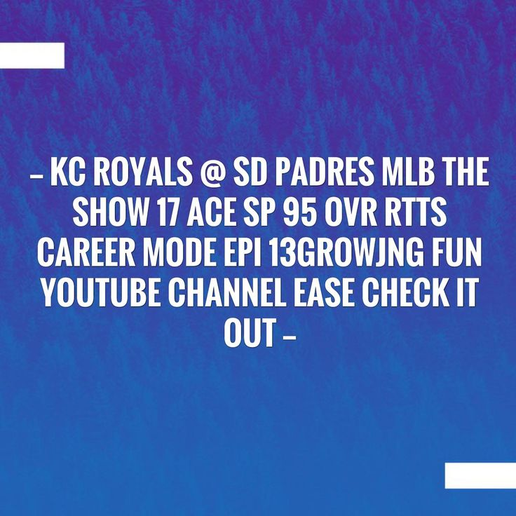 In case you missed it, here you go 🙌 KC Royals @ SD Padres MLB The Show 17 Ace SP 95 OVR RTTS Career Mode EPI 13growjng fun youtube channel ease check it out http://alwaysbegaming.blogspot.com/2017/08/kc-royals-sd-padres-mlb-show-17-ace-sp.html?utm_campaign=crowdfire&utm_content=crowdfire&utm_medium=social&utm_source=pinterest