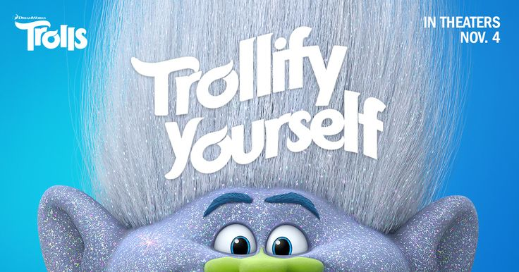 I trollified myself: now it's your turn! #DreamWorksTrolls