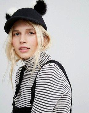 Женские головные уборы | Шапки-бини, повязки на голову и зимние шапки | ASOS