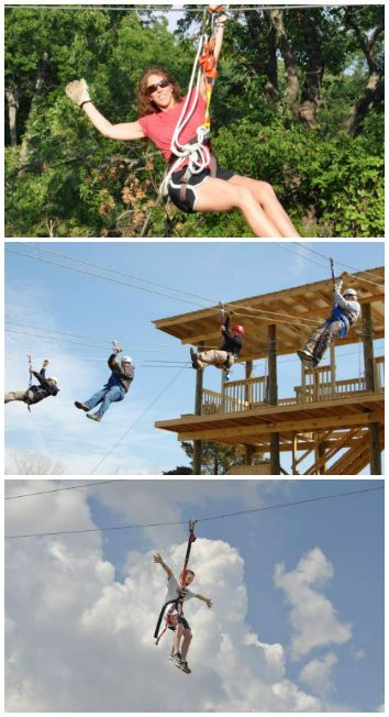 Feeling adventurous? Zip over to these attractions in Tulsa, Oklahoma City and Davis where you can take a ride on a zip line & enjoy a bird's-eye-view of Oklahoma's beautiful landscape.