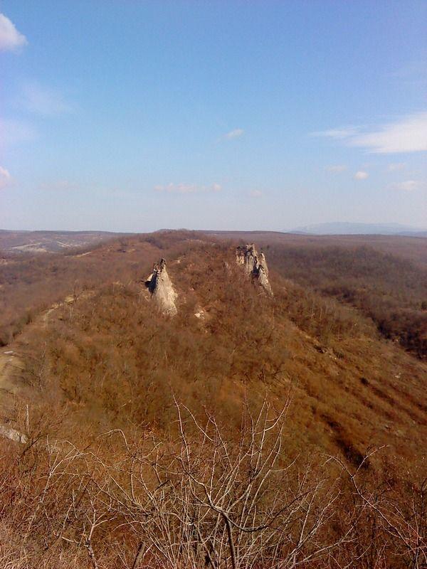 Monk and Nun rocks - Sirok