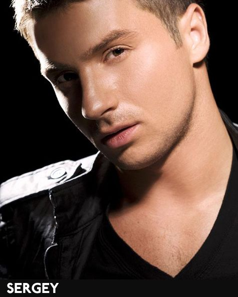 Sergey Lazarev (Серге́й Вячеславович Лазарев) is a Russian pop singer. He is a former member of the pop group Smash!! and now with four solo albums under his belt. Very Europop in style, and he records most of his music in English.
