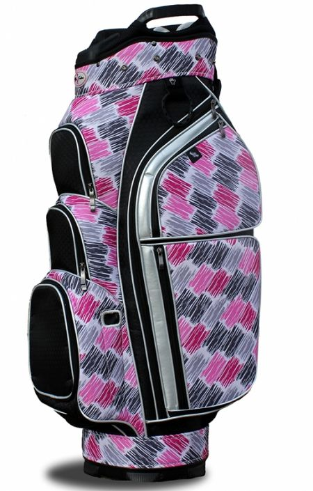 Check out our Allure Design (Curtain Call) Taboo Fashions Ladies Golf Cart Bag! Find the best Golf Accessories at #lorisgolfshoppe Click through to own this bag!