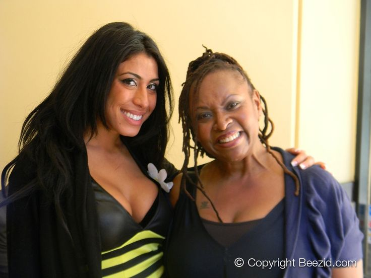 Beezid Honey, Leyla Ghobadi with Robin Quivers.