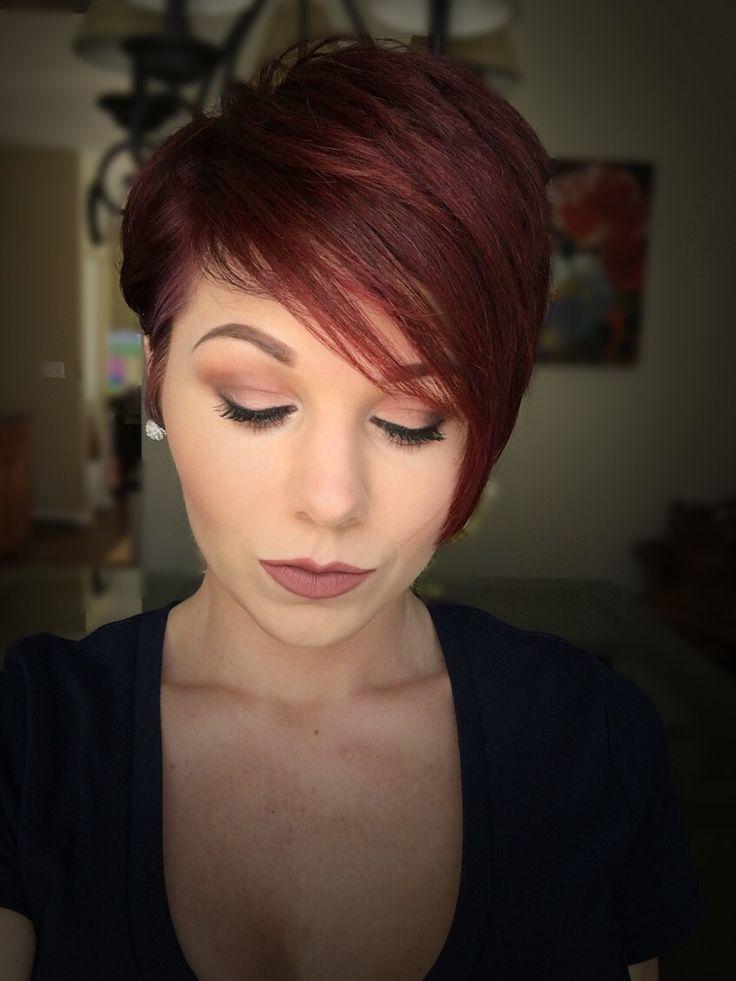 red pixie cuts ideas