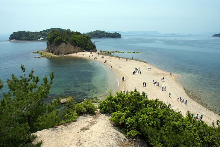 エンジェルロード, 小豆島 [Angel Road on Shodo Island], from the JDorama Love Letter