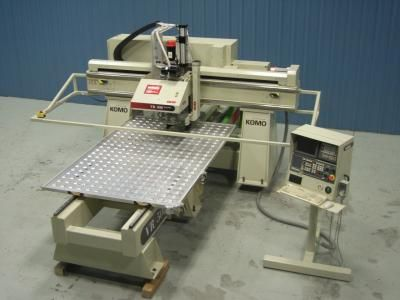 Used Komo Model VR508 MACH ONE CNC Router for sale at www.RTMachine.com  -        RT Machine Company is Your Source for Woodworking Machinery!