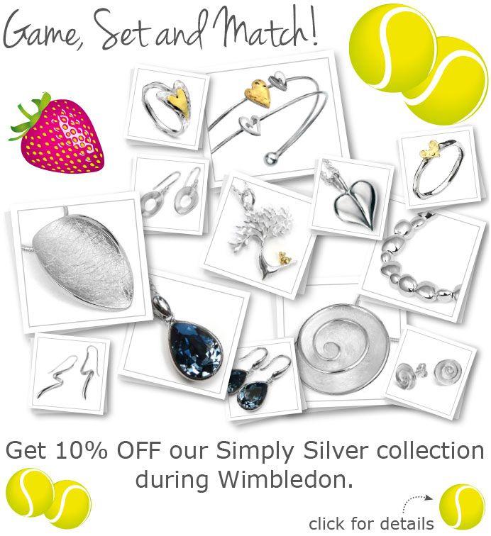 10% OFF for Wimbledon!