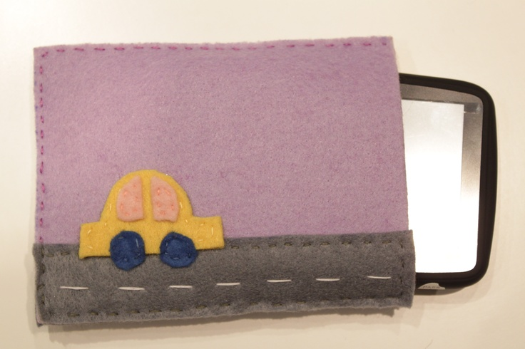 felt case for GPS device