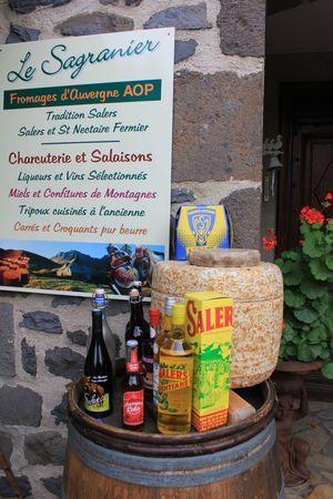 Salers, Cantal.