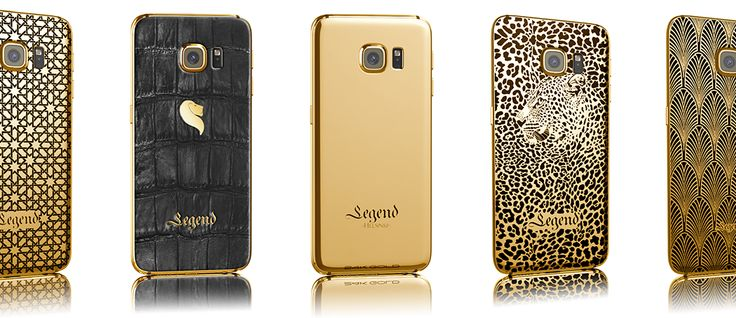 luxexpose article about our lineup of 24k gold Samsung Galaxy S6