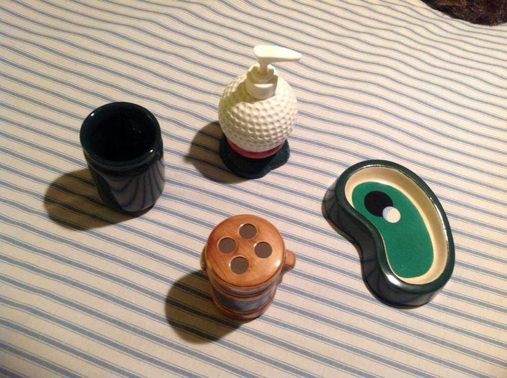 Ceramic Bathroom Vanity Golf Set