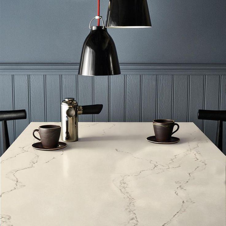 Monday's with #Caesarstone Statuario Nuvo aren't so bad. #architecture #interiordesign #homedecor #marble #stone #luxury #design #kitchen