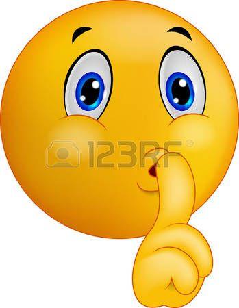 Resultado de imagen para emoticonos haciendo silencio para niños