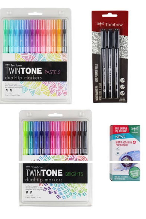 Tombow Bargain Bundle By Blitsy I Love Dual Tip Markers They May