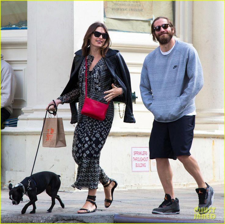 Jake Gyllenhaal steps out with his girlfriend Alyssa Miller