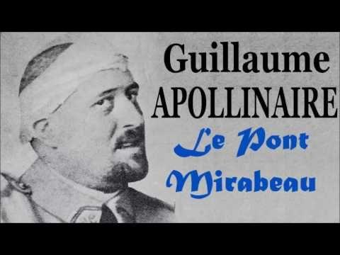 Le Pont Mirabeau de Guillaume Apollinaire (FR) - Poème audio