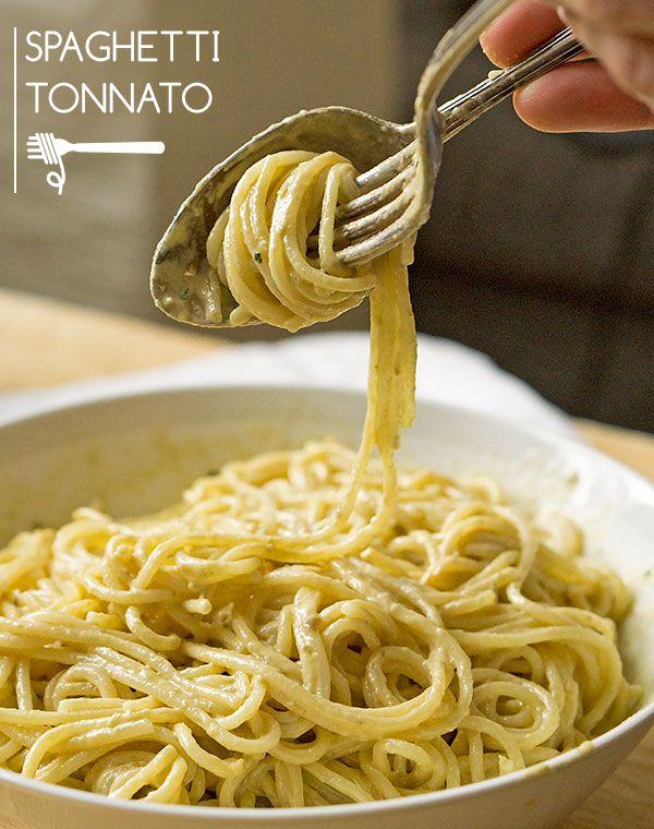 Vitello Tonnato Pasta – aber ohne Kalb