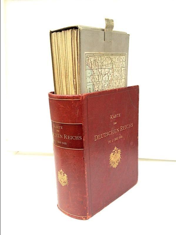 KARTE des DEUTSCHEN REICHES 25 Karten Jahr 1894 1:500 000 Geographischer Anstalt