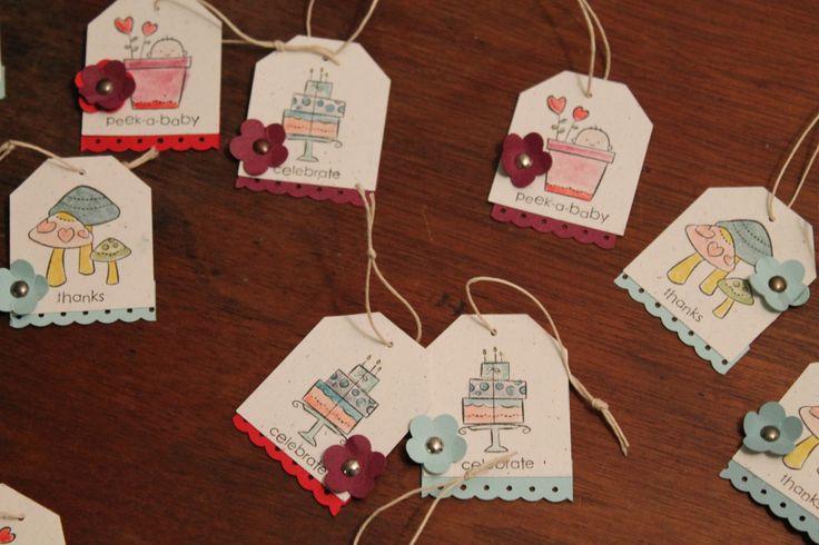 Craft Fair Ideas - itty bitty tags